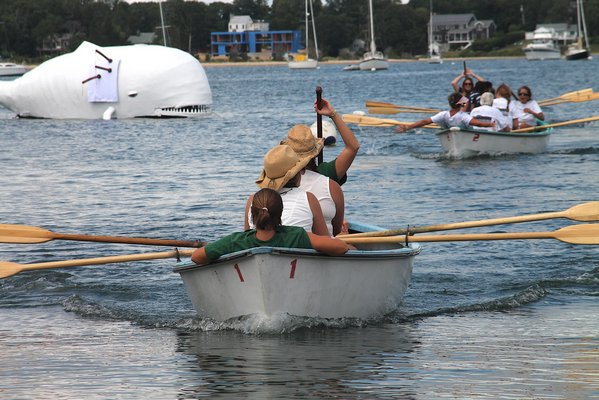 The whaleboat races.