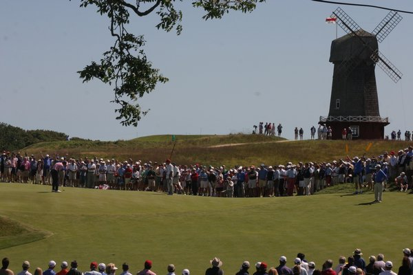 The 44th Walker Cup Matches are being played at the National Golf Links of America this weekend. M. Wright