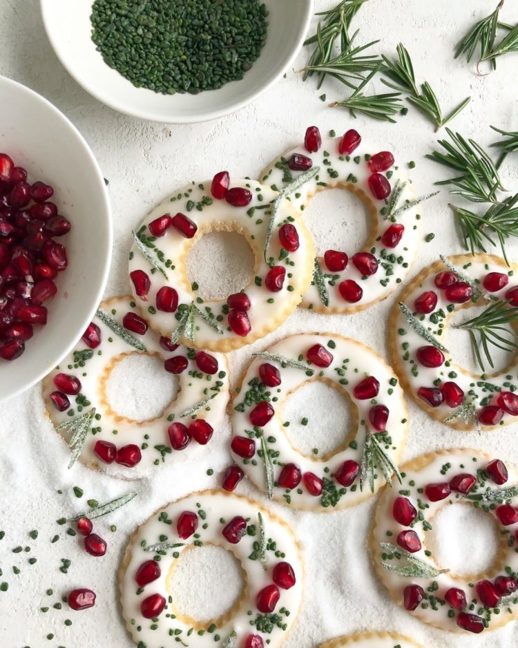 Colorful Christmas Cookies made by Susan Spungen.