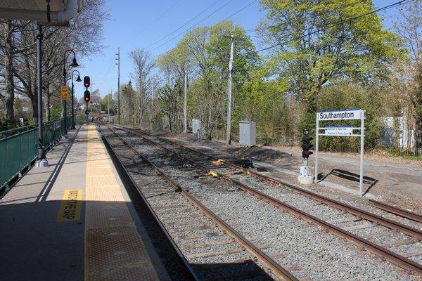 The Southampton Train Station. VALERIE GORDON