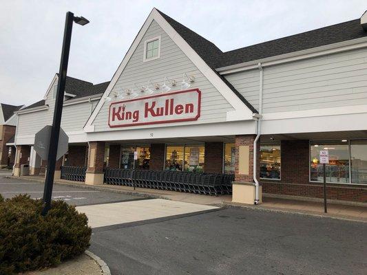 King Kullen on Montauk Highway in Hampton Bays. VALERIE GORDON