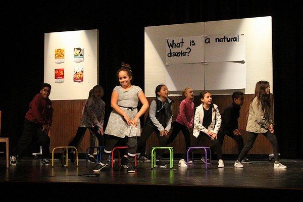 The Springs School Opera companies dress rehearsal on Monday