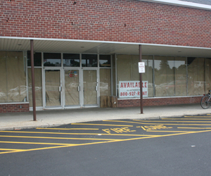 The vacant National's store adjacent to Waldbaum's on Sunset Avenue in Westhampton Beach.