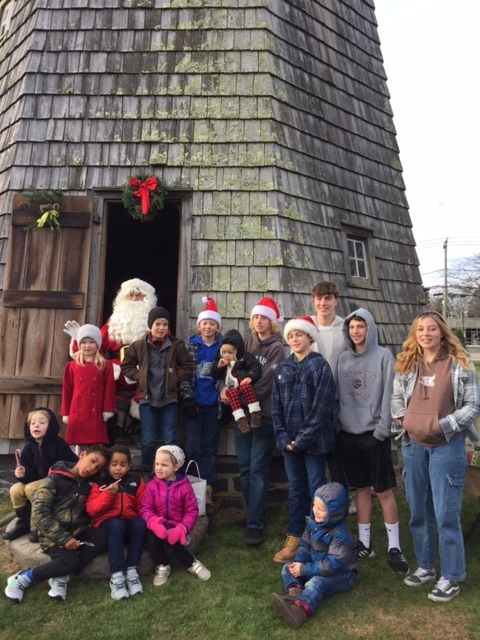 The Water Mill Community Club hosted its annual Christmas on the Green on Sunday, which included a visit from Santa.