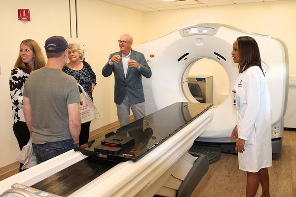 The Phillips Family Cancer Center was officially opened on Thursday.        KYRIL BROMLEY