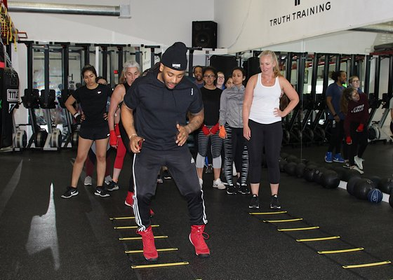 are making a name for themselves in the fitness world on the East End