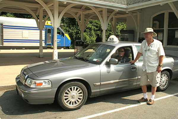 Taxi owner Chip Dayton said East Hampton Village has unfair promoted the business of Hamptons Free Rides.
