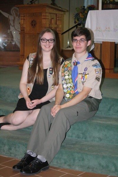 while Gary became an Eagle Scout. CAILIN RILEY