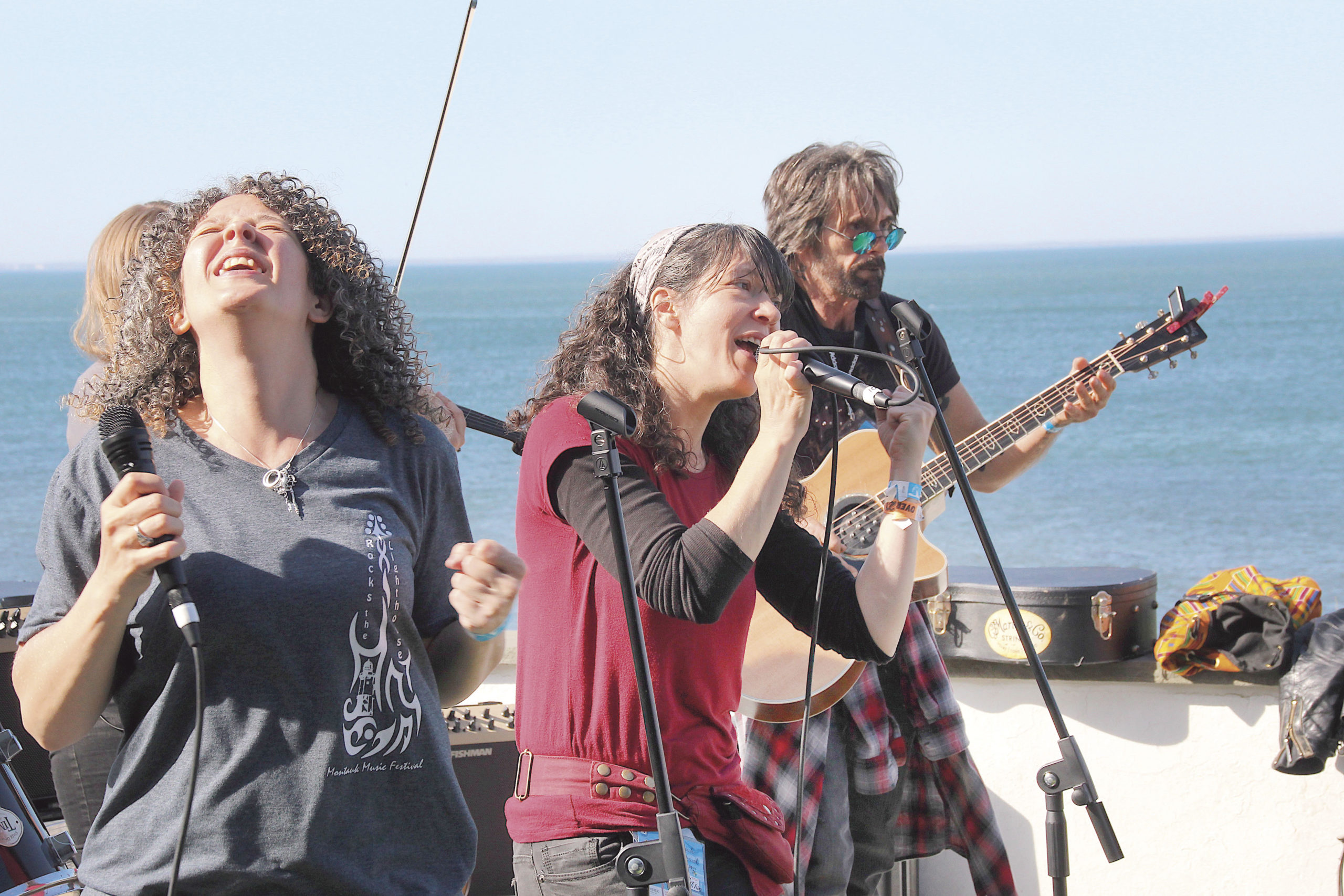The Point Was Jumpin' May 22 -- Tuatha Dea performs at the Lighthouse Cafe as part of the Montauk Music Festival