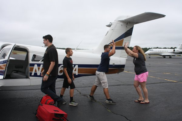 which uses volunteer pilots to help families in need. COURTESY THE SHELTER ISLAND REPORTER
