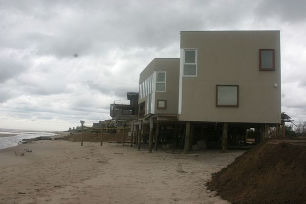 Southampton Town is lifting permit application requirements for depositing sand for rebuilding beaches and dunes.  MICHAEL WRIGHT