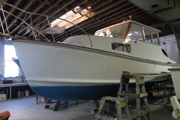 his 29-foot boat. CAROL MORAN