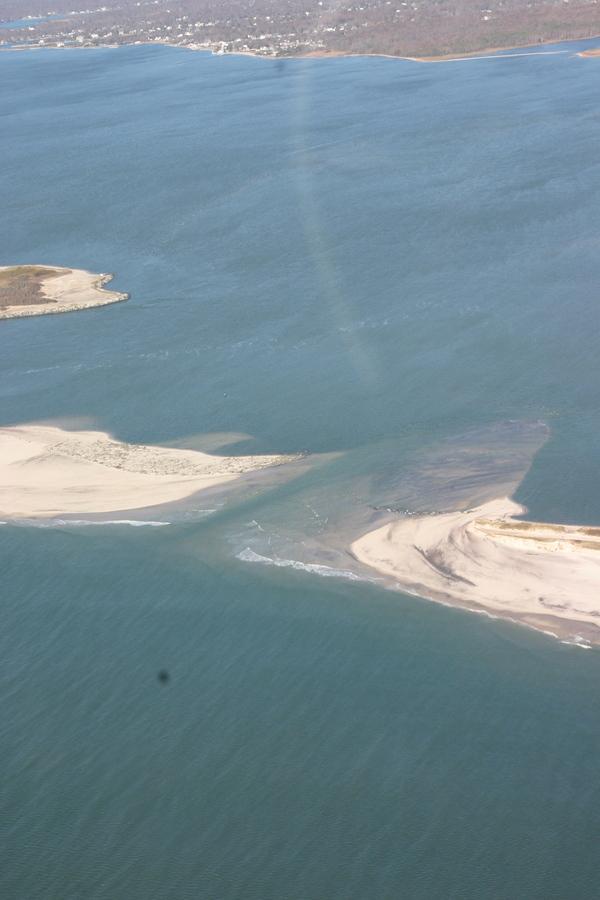 Moriches Inlet near West Hampton Dunes