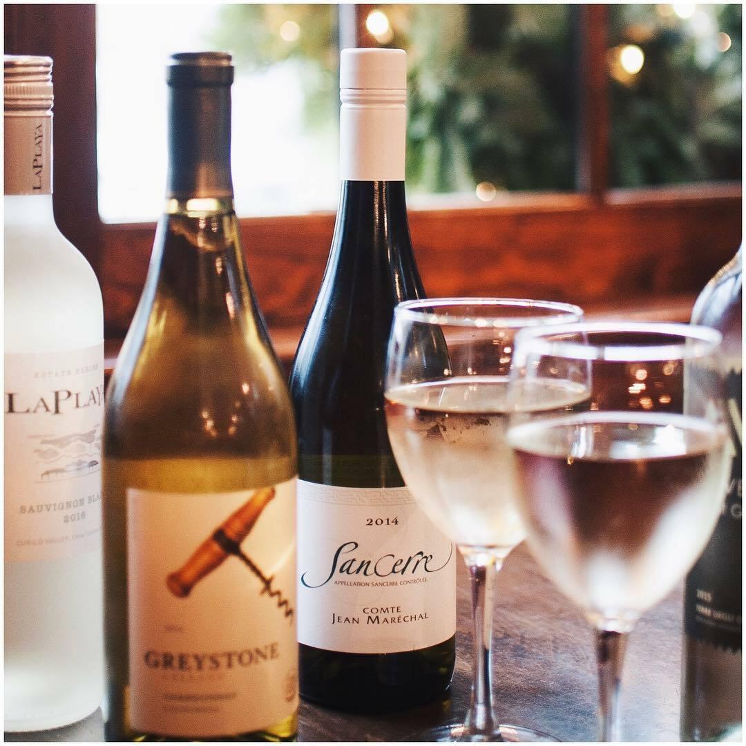 Enjoying wines at Indian Wells.