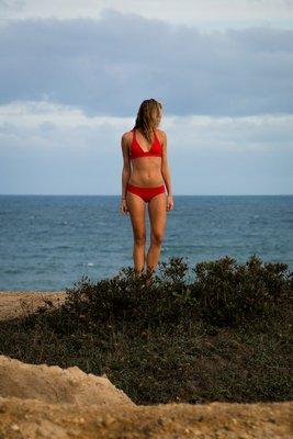 Ariana Jasuta modeling the Kaileigh Swimwear Collection. GR