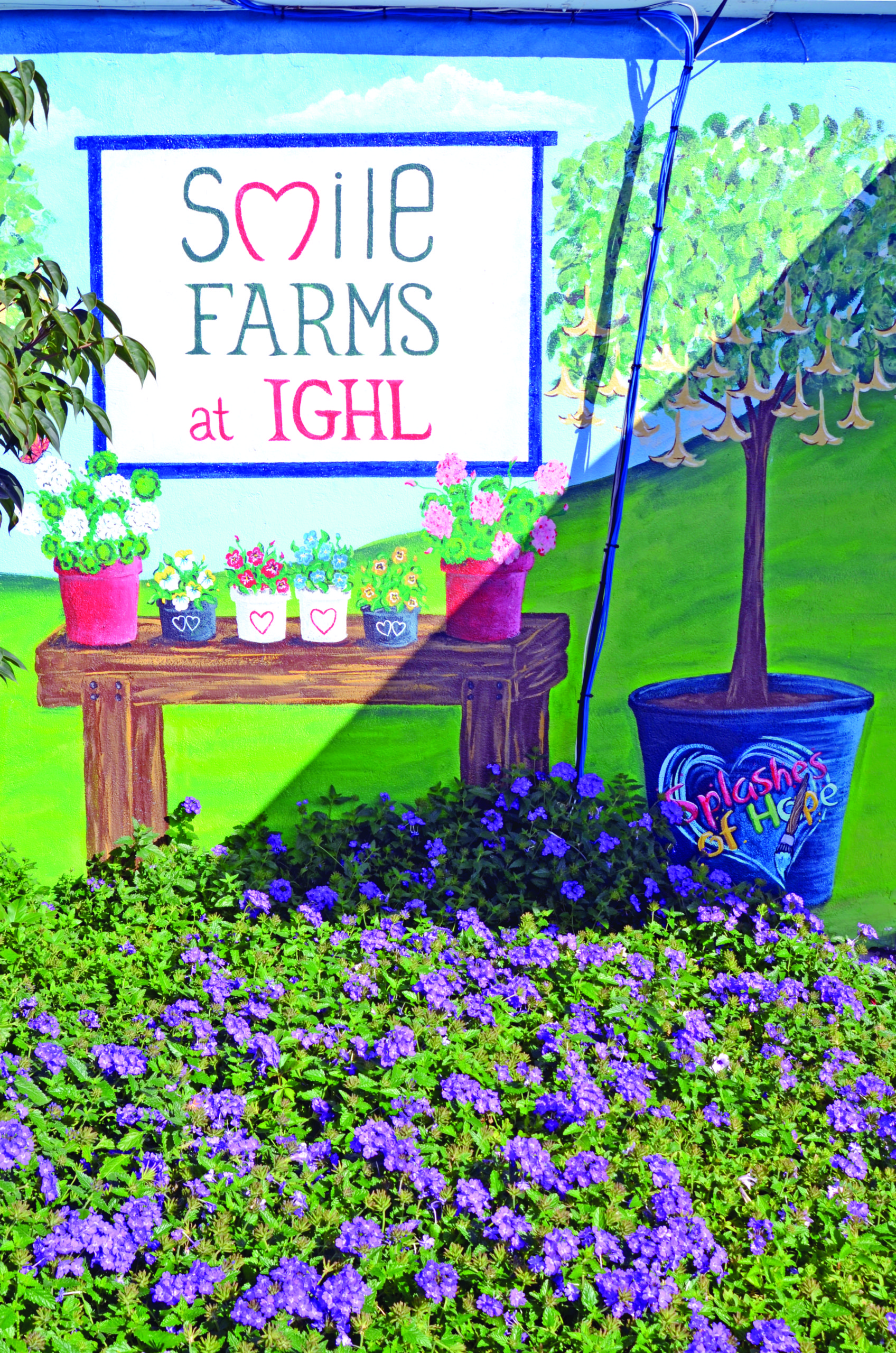 Smile Farms at IGHL. KIM COVELL