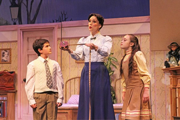 Thea Flanzer as Jane Banks in the Gateway Playhouse's production of Mary Poppins. COURTESY THEA FLANZER