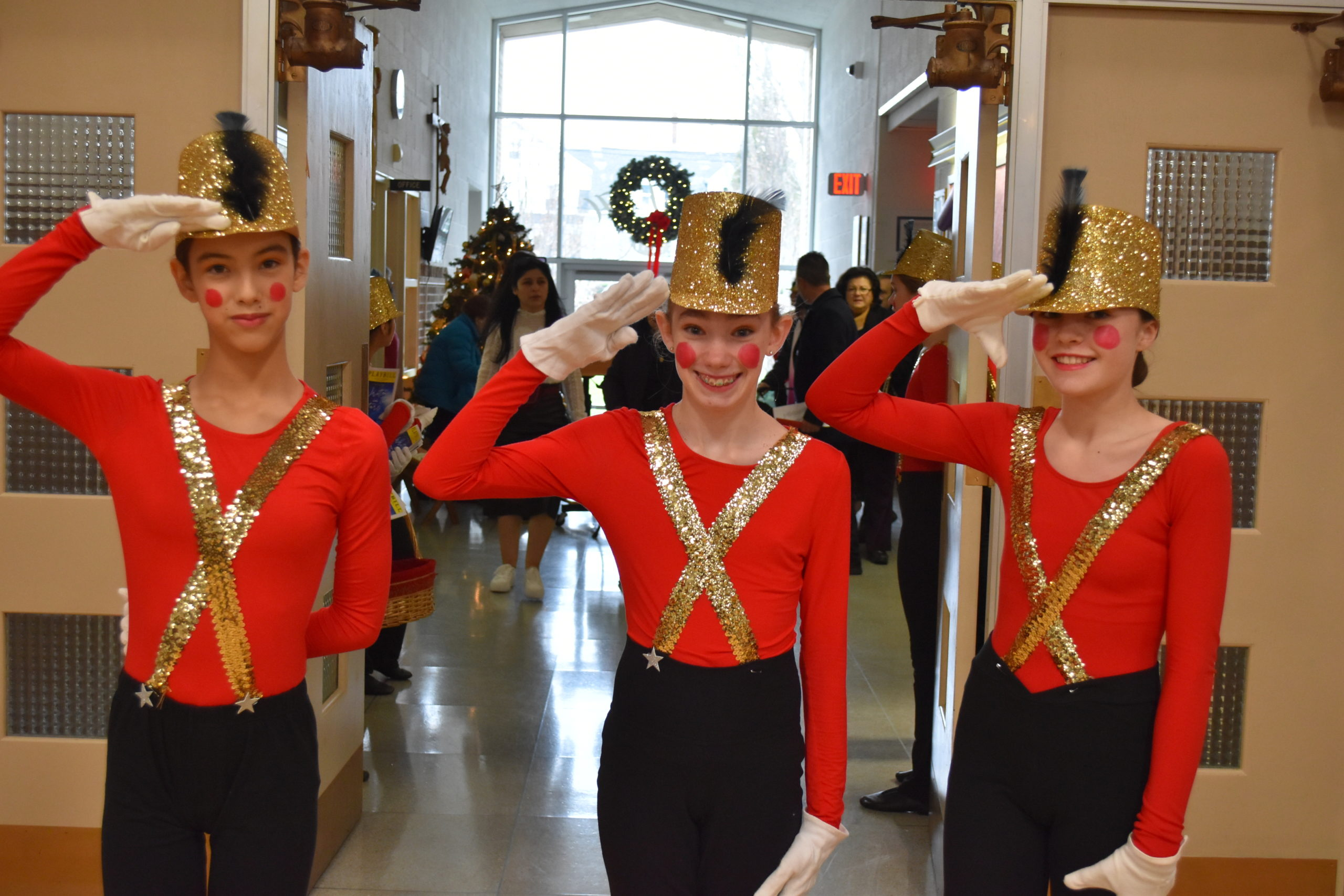 All 300 students at Our Lady of the Hamptons participated in the original production of