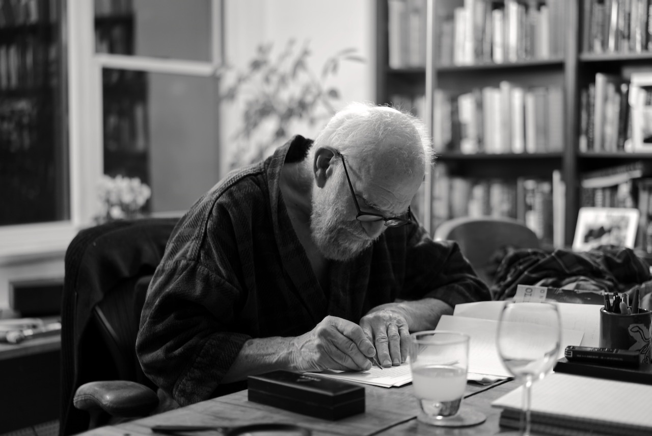 "A production image from the film ""Oliver Sacks: His Own Life"