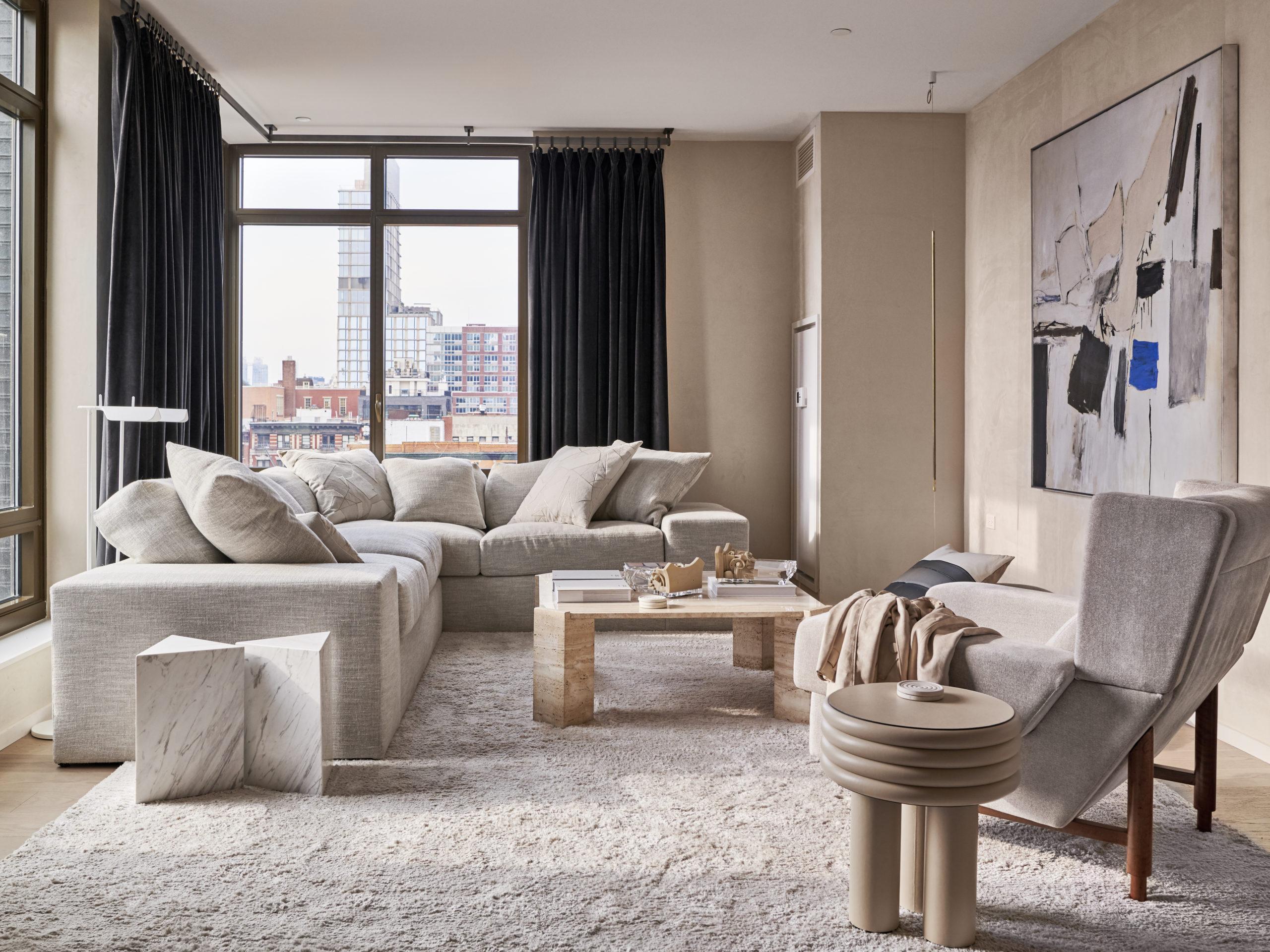 A Manhattan apartment designed by Timothy Godbold.