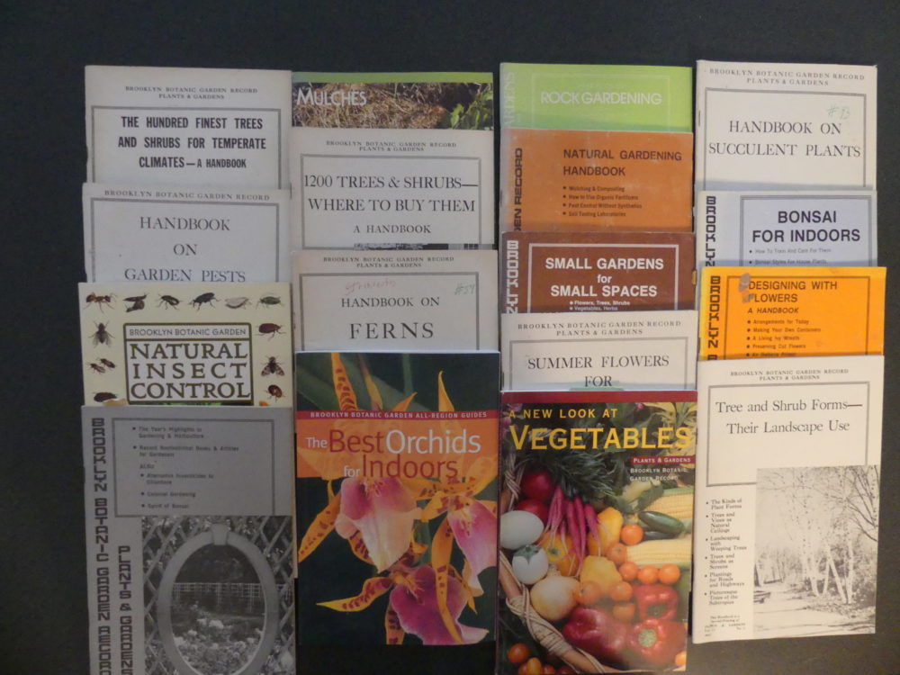 The Hampton Gardener's collection of BBG handbooks go back 30 years. These and the newer titles make great gifts as well as ageless references and learning tools for gardeners of all levels of experience.