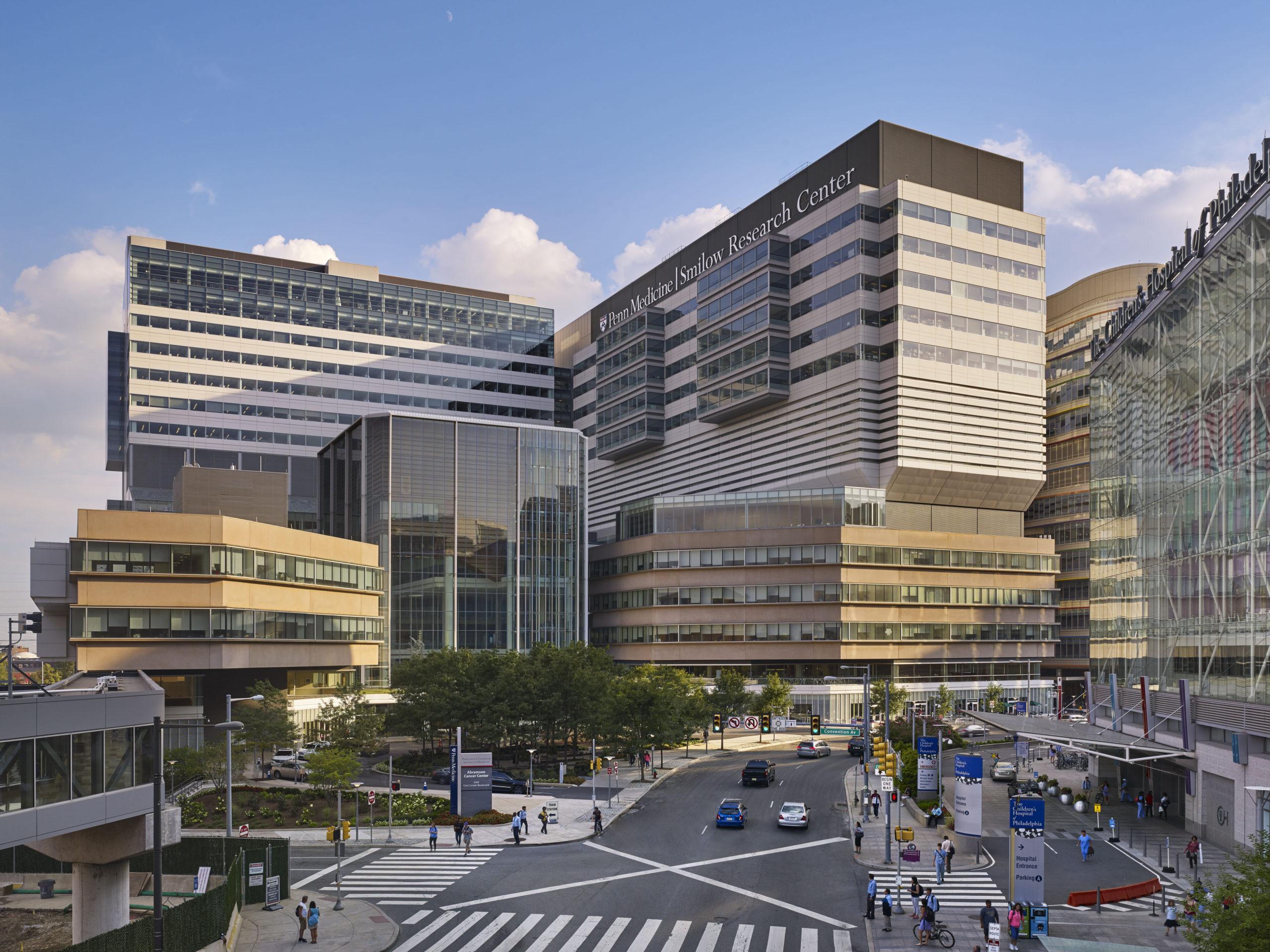 Penn Medicine Complex.                                                 ©Halkin Mason, Courtesy Rafael Viñoly Architects