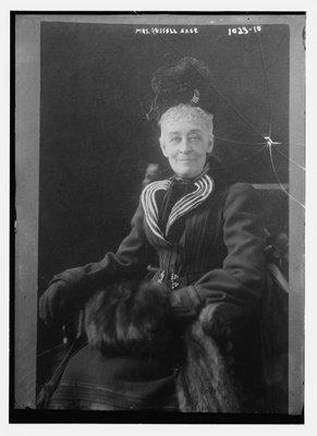 Margaret Olivia Slocum Sage in 1910. LIBRARY OF CONGRESS