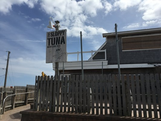 A co-owner of The Sloppy Tuna in Montauk is facing Contempt of Court. LAURA WEIR