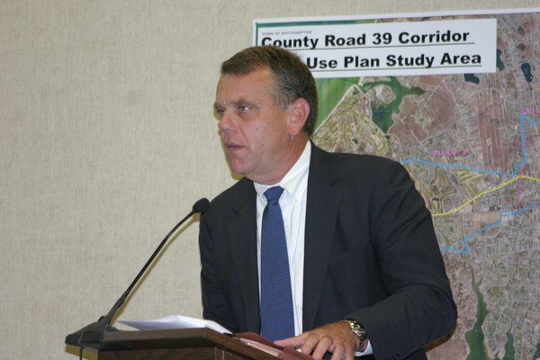 an environmental attorney from Hampton Bays and a former Town Board member