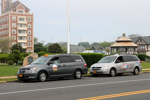 Taxis have become a pressing issue in Montauk. KYRIL BROMLEY