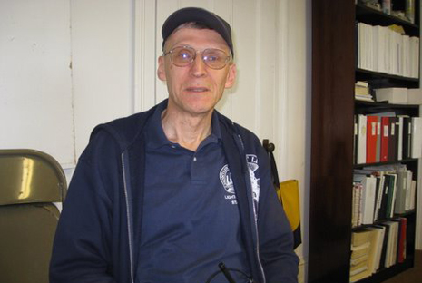 Tour guide and author Henry Osmer who will speak at the library on Satuday night.