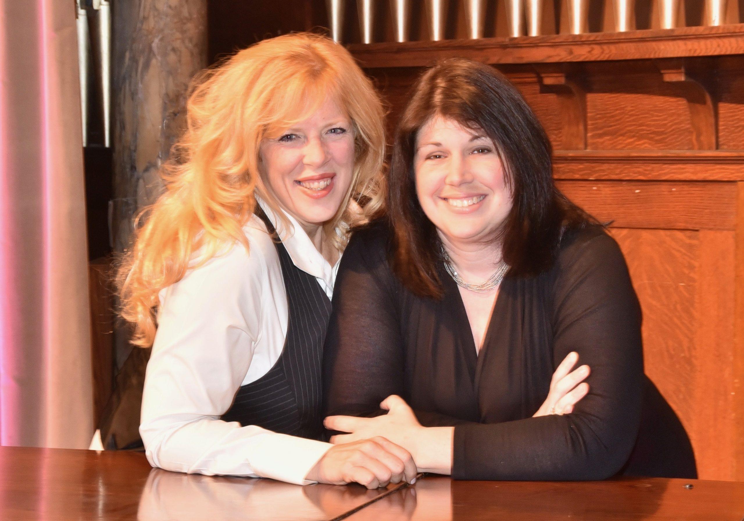 Valerie diLorenzo and Amanda Borsack Jones.