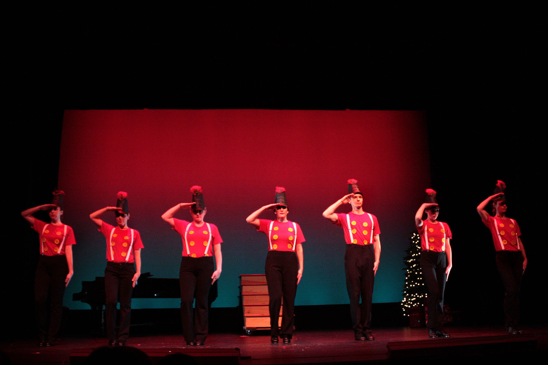 A previous performance of the Holiday Spectacular at Westhampton Beach Performing Arts.
