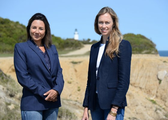 Julia Prince and Jennifer Garvey are leading Deepwater Wind's outreach and planning efforts as it seeks approvals for a wind farm off Block Island that will feed power to the South Fork. Kyril Bromley