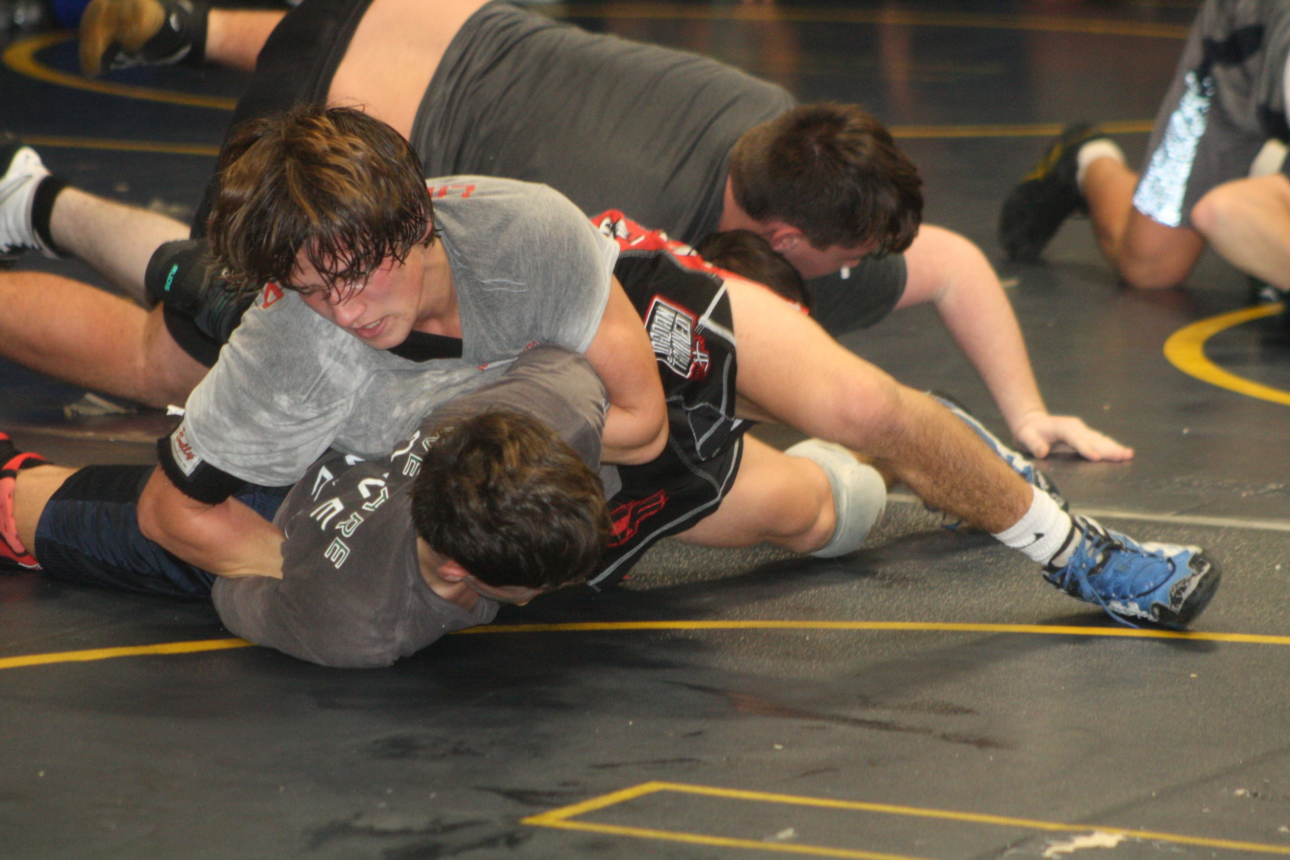 Gavin McIntyre is a key returning wrestler for Westhampton Beach this season.