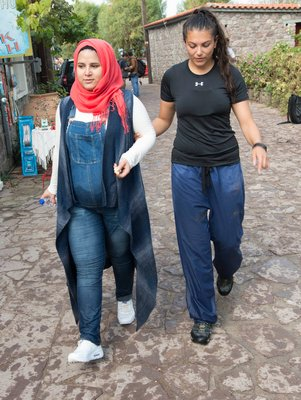 Greece to document the mass migration of refugees.  DOUG KUNTZ