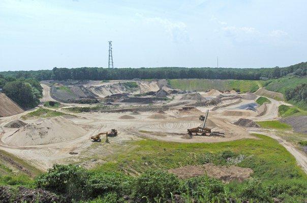 The Sand Land mine in Noyac.