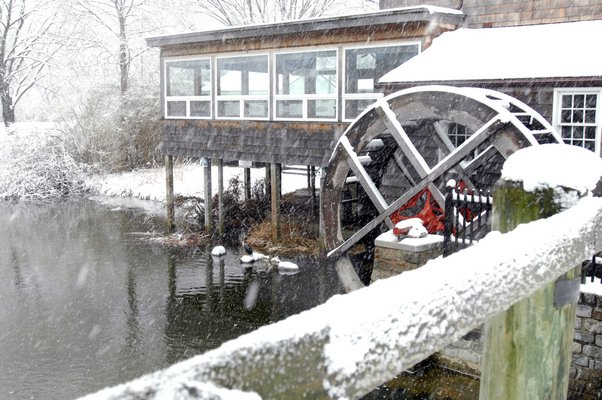 The Water Mill Museum in Water Mill on Monday.  DANA SHAW