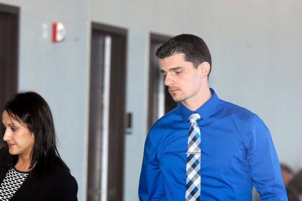 Anthony Oddone was in court on Thursday for his arraignment.  DANA SHAW