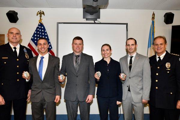 The new officers Josiah Hoshyla