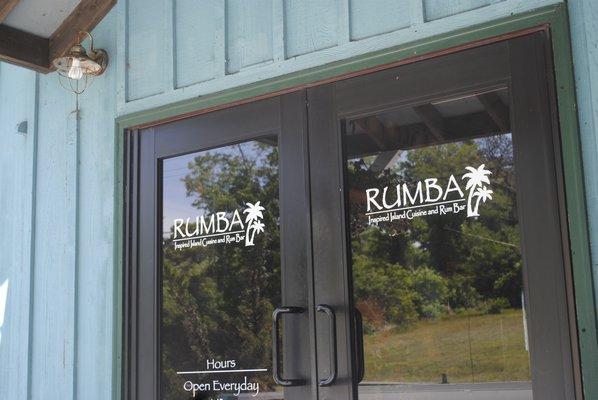 The logo for Rumba Rum Bar in Hampton Bays. AMANDA BERNOCCO