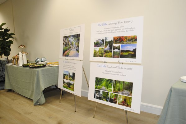 DIscovery Land Company opened an informational storefront in East Quogue. AMANDA BERNOCCO