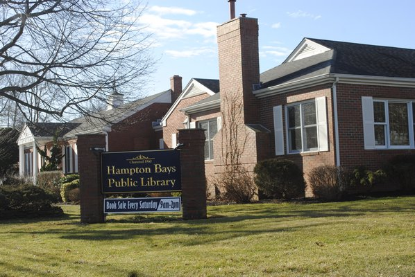 The Hampton Bays Library Board of Trustees is asking taxpayers to approve a nearly $10 million bond referendum to renovate the Ponquogue Avenue facility. AMANDA BERNOCCO