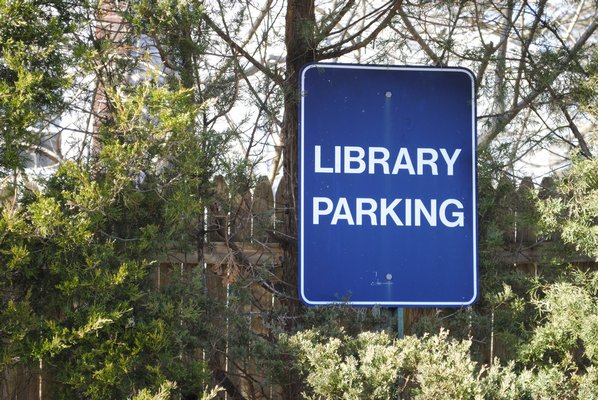 If the nearly $10 million bond referendum is approved an additional 25 parking spaces will be built at the Hampton Bays Library. AMANDA BERNOCCO