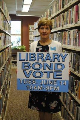 director of the Hampton Bays Public Library