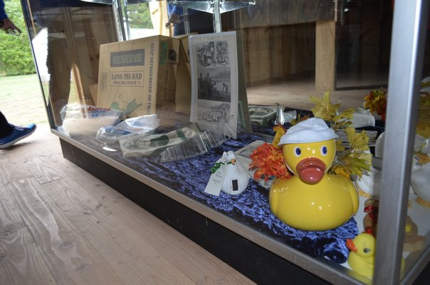 at the Long Island Duck Farming Exhibit