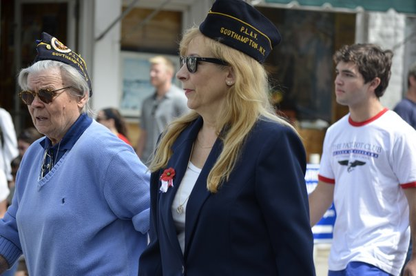 Southampton Village celebrated Memorial Day on Monday with a parade and memo
