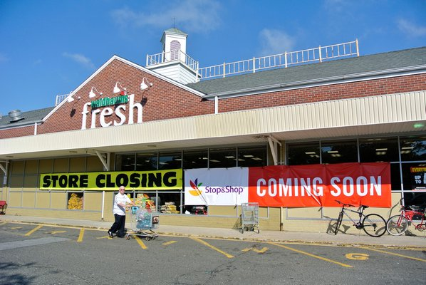 Waldbaum's in Southampton Village will be closing in early October. DANA SHAW