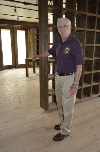 Veterans of Foreign Wars Post 5350 Commander Bill Hughes at the new facility in Westhampton Beach. ALEXA GORMAN