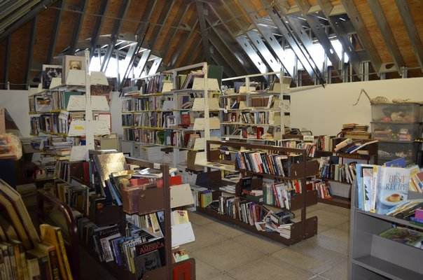 The Westhampton Free Library is hoping to renovate an existing storage space and open it to the public. BY ERIN MCKINLEY